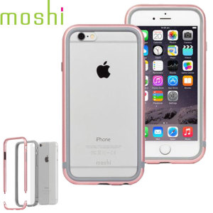 Bumper iPhone 6S Moshi iGlaze Luxe - Or Rose