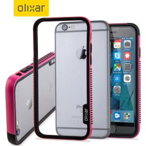Stylischer iPhone 6S Bumper bewahrt vor Beschädigungen.