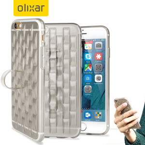 Custom moulded for the iPhone 6S Plus, this clear FlexiLoop gel case from Olixar provides excellent protection and a handy finger loop to keep your phone in your hand, whether from accidental drops or attempted theft.