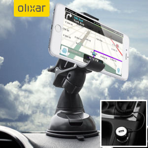 Essential items you need for your smartphone during a car journey all within the Olixar DriveTime In-Car Pack. Featuring a robust one-handed phone car mount and car charger with additional USB port for your IOS device.