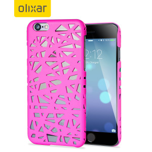 Protect your iPhone 6S / 6 in a pink sorbet protective hard case. Featuring a stunning weaving maze inspired design that will provide much needed protection while still allowing some of your iPhone's style to shine through.