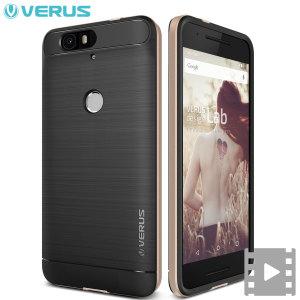 Esta funda Verus High Pro Shield Series protegerá su Nexus 6P de una forma precisa gracias a su fabricación de doble capa.