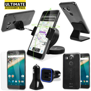 The Ultimate Pack for the Nexus 5X consists of fantastic must have accessories designed specifically for the Nexus 5X.