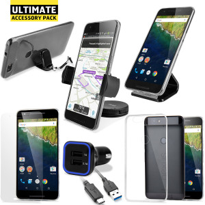 The Ultimate Pack for the Nexus 6P consists of fantastic must have accessories designed specifically for the Nexus 6P.