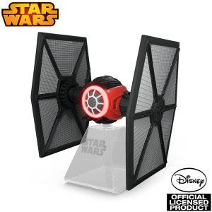 You're on the leader! Enjoy great sound and great times with the Star Wars Episode VII TIE Fighter Bluetooth speaker. With working lights and crisp sound, this is ideal for bedroom and lounge or office alike.