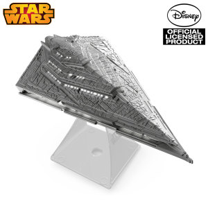 Iconic, hulking and menacing, the Imperial Star Destroyer was the scourge of the stars - now bigger and badder for the First Order! Enjoy great sound and great times with the Star Wars Episode VII Star Destroyer Bluetooth speaker.