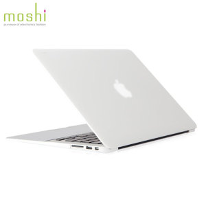 """This clear iGlaze case for the MacBook Air 13"""" provides amazing protection from Moshi, without adding any extra bulk."""