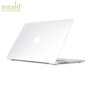 Coque MacBook Pro 15 pouces Retina Moshi iGlaze rigide – Transparente