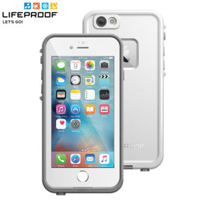 Make your phone waterproof and experience the freedom to surf, sing in the shower, ski, snowboard, work on construction sites and have true iPhone 6S freedom anywhere you go with the LifeProof Fre case in white!