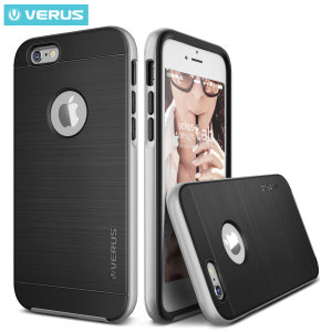 Protect your iPhone 6S Plus / 6 Plus with this precisely designed high pro shield series case in silver from Verus. Made with tough dual-layered yet slim material, this hardshell body with a sleek bumper features an attractive two-tone finish.