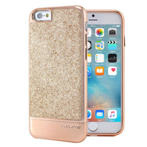 Add a touch of bling to your iPhone 6S / 6, whilst keeping it well protected with the rose gold Sparkle Fusion Glitter Case from Prodigee. Slim, light and incredibly attractive, this case really does have it all and is screen protector friendly.