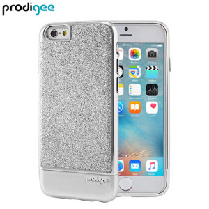 Add a touch of bling to your iPhone 6S / 6, whilst keeping it well protected with the silver Sparkle Fusion Glitter Case from Prodigee. Slim, light and incredibly attractive, this case really does have it all and is screen protector friendly.
