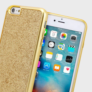 Add a touch of bling to your iPhone 6S Plus / 6 Plus, whilst keeping it well protected with the gold Sparkle Fusion Glitter Case from Prodigee. Slim, light and incredibly attractive, this case really does have it all and is screen protector friendly.