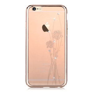 Coque iPhone 6S Plus / 6 Plus Olixar Crystal Ballet – Or Champagne