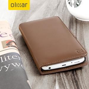 En elegant og enkel lommeboksdeksel i ekte lær med et magnetisk lås. Dekslet fra Olixar tilbyr en god beskyttelse til din LG V10 og har oppbevaringslommer til dine kort, penger og dokumenter.