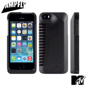 Funda iPhone 5S / 5 Ampfly MTV - Negra