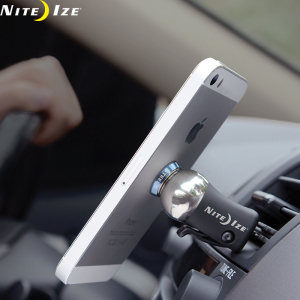 The Nite Ize Steelie Car Mount Kit is the perfect phone holder for your car. It docks your phone to your dashboard in a snap, so it's visible, accessible, and right where you need it, everywhere you go.