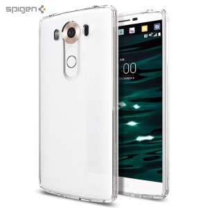 Protect the back and sides of your LG V10 without affecting the dynamics of the design with this crystal clear, Ultra Hybrid case from Spigen.