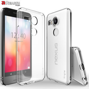 Provide your Nexus 5X with ultra-thin, tough snap-on protection with this Ringke Slim clear polycarbonate case.