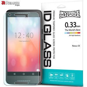 El protector de cristal templado para el Nexus 5X de Rearth está fabricado para proteger al completo la pantalla de su dispositivo, evitando así roturas y arañazos innecesarios.