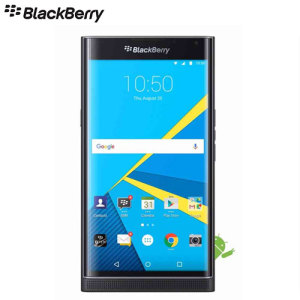 Unlocked 32GB BlackBerry Priv in black. With a 5.4 inch display featuring a 1440 x 2560 pixels resolution, 18MP camera and running Android 5.1.1 - this BlackBerry smartphone is ready for anything you can throw at it.