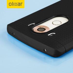 Krystalplastagtig beskyttelse med holdbarheden af et silikoneetui, fremstillet specielt til LG V10.