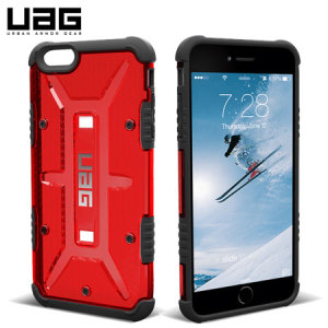 Coque iPhone 6S Plus / 6 Plus UAG Maverick Protective - Rouge