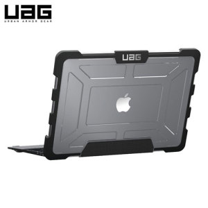 The Urban Armour Gear clear tough case for the Apple MacBook Pro 13 inch with Retina Display comprises of a protective TPU case with a brushed metal UAG logo insert for an amazing design that compliments your MacBook perfectly.