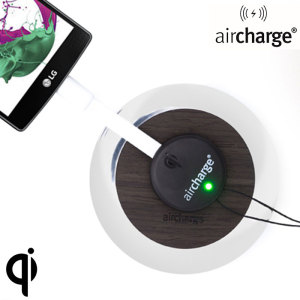 The aircharge Wireless Charging Receiver attaches to the Micro USB port of your phone, allowing you to charge your device on any Qi compatible charging station.