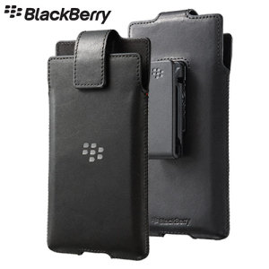 Hand crafted and finished in genuine Nappa leather with a soft inner lining, the official BlackBerry Leather Swivel Holster protects against bumps and scratches and features a 360 degree rotating belt clip.
