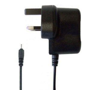 Make sure any 2mm pin compatible Nokia devices are kept fully charged and ready to use with this UK mains charger.