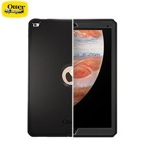 Drop-proof your magical, new must-have iPad Pro 12.9 2015 with the black OtterBox Defender Series for the Apple iPad Pro. Rugged and stylish, this tough case will keep your iPad Pro looking good on the inside and out.