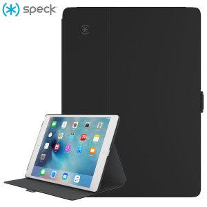 Proporciona una protección elegante y sofisticada a su iPad Pro 12.9. La funda StyleFolio de Speck incluye la función de soporte multimedia y sistema de cierre seguro, de esta forma además de mantener su dispositivos seguro también le dará un extra de utilidad.