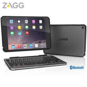 The Zagg slim book can take your iPad Mini 4 to the next level with this detachable case and wireless Bluetooth UK keyboard.