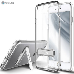Keep your iPhone 6S Plus / 6 Plus protected from damage with the durable and attractive clear polycarbonate shell case from Obliq.