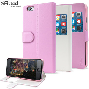 Get two cases for the price of one with this magic transforming view case from X-Fitted. Transforming between white and pink, you can pick the perfect colour for you and your 6S Plus / 6 Plus whilst being able to view calls and notifications with ease.
