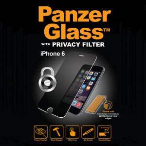 Introducing the PanzerGlass glass screen protector with privacy filter. Designed to be shock resistant and scratch resistant, PanzerGlass offers ultimate protection for your iPhone 6S/6 display.