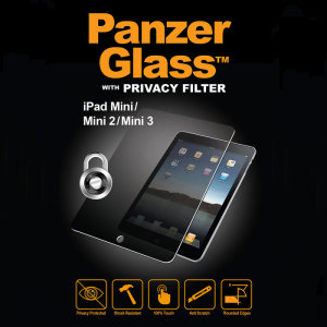 Introducing the PanzerGlass glass screen protector with privacy filter. Designed to be shock resistant and scratch resistant, PanzerGlass offers ultimate protection for your iPad Mini 3/2/1's display.