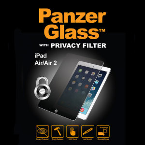 Introducing the PanzerGlass glass screen protector with privacy filter. Designed to be shock resistant and scratch resistant, PanzerGlass offers ultimate protection for your iPad Air 2/Air's display.