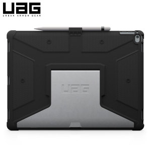 The UAG Scout Rugged Case in black keeps your iPad Pro 12.9 2015 protected with a lightweight, but highly protective honeycomb composite interior, with a tougher outer case, ensuring the perfect combination of style and security.