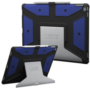The UAG Cobalt Rugged Case in blue keeps your iPad Pro 12.9 2015 protected with a lightweight, but highly protective honeycomb composite interior, with a tougher outer case, ensuring the perfect combination of style and security.