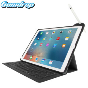 The DropTech Case from Gumdrop for the iPad Pro 12.9 inch features reinforced rubber bumpers and a built-in slot for the Apple Pencil, allowing you to keep your precious new iPad safe and secure at all times.