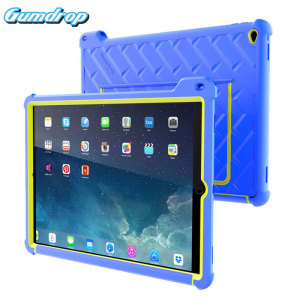 The multi-angle Hideaway Stand Case from Gumdrop in royal blue / lime for the iPad Pro 12.9 inch features reinforced rubber bumpers and a built-in slot for the Apple Pencil, allowing you to keep your precious new iPad safe and secure at all times.