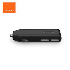 Gardez votre téléphone et tablette chargé en même temps grâce à ce chargeur de voyage de 4.8A double USB de chez Kenu.
