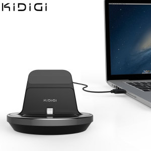 Synchronise and charge your Micro USB smartphone with this stylish and case compatible desktop dock which also acts as a multimedia stand.