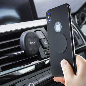 Olixar Magnetic Vent Mount Universal Smartphone Car Holder - Black