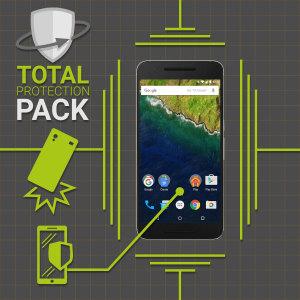 Mantener el Nexus 6P protegido es el deseo de cualquier poseedor del mismo. Con este pack de protección total fabricado por Olixar, compuesto por una funda de gel totalmente transparente y un protector de pantalla de cristal templado, mantendrá su teléfono protegido como el primer día.