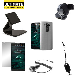 The Ultimate Pack for the LG V10 consists of fantastic must have accessories designed specifically for the LG V10.