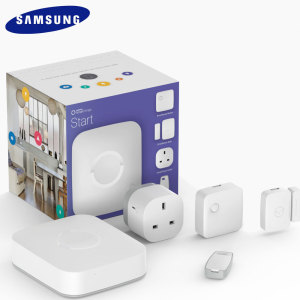 Make your home 'smart' with the SmartThings Starter Kit from Samsung. With the ability to monitor, control and secure your home from anywhere, the SmartThings Starter Kit is perfect to create your smart home.