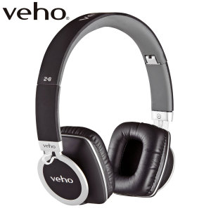 Enjoy your music with crystal clarity, defined bass and beautifully balanced sound with the Veho Z8 Headphones in black and silver - with soft leather ear pads and cushioned adjustable headband for a supremely comfortable fit.
